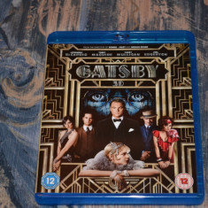 Film - The Great Gatsby 3D [1 Disc 3D + 1 Disc 2D), Release UK Original - Film Colectie warner bros. pictures, BLU RAY 3D, Engleza