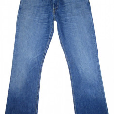 LEVI'S 507 BOOTCUT - (MARIME: 31 x 32) - Talie = 83 CM, Lungime = 106 CM - Blugi barbati Levi's, Culoare: Albastru, Prespalat, Normal