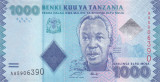 Bancnota Tanzania 1.000 Shilingi (2010) - P41 UNC