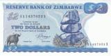 Bancnota Zimbabwe 2 Dolari 1983 - P1b UNC