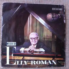 Elly Roman melodii de Elly Roman disc single vinyl Muzica Pop electrecord usoara romaneasca, VINIL