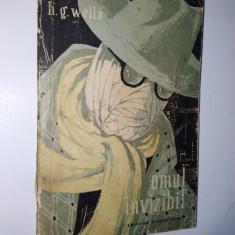 Omul Invizibil - H. G. Weels Ed. Tineretului 1957 - Carte de aventura