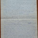 Manuscris Demostene Botez, 4 foi, scris si semnat olograf - Autograf