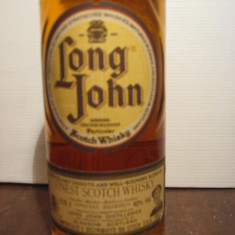Whisky long John, finest scotch whisky, cl 70 gr 40