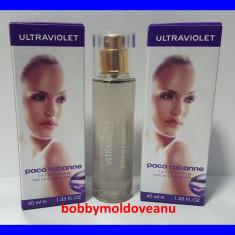 TESTER FIOLA DAMA PACO RABANNE ULTRAVIOLET - 4OML - Parfum femeie Paco Rabanne, Apa de parfum, 40 ml