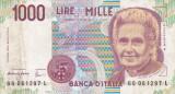 ITALIA 1.000 lire 1990 VF+!!!