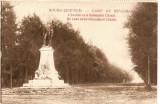 WW1 CAMP DE BEVERLO  BELGIA ALEEA PRINCIPALA MONUMENTUL CHAZAL, Necirculata, Printata