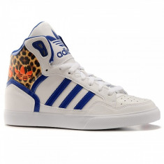 Incaltaminte Femei marca Adidas, Ghete Adidas- made in Vietnam - Gheata dama Adidas, Culoare: Alb, Marime: 38, 39 1/3, Piele naturala
