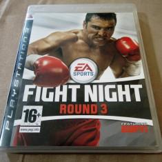 Joc Fight Night Round 3, PS3, original, alte sute de jocuri! - Jocuri PS3 Ea Sports, Sporturi, 16+, Multiplayer
