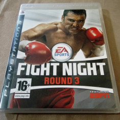 Joc Fight Night Round 3, PS3, original, alte sute de jocuri! - Jocuri PS3 Ea Sports, Sporturi, 16+, Multiplayer