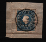 1858 austria mi. 15 stampilat, Nestampilat