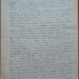 Manuscris Demostene Botez, 12 foi, scris si semnat olograf - Autograf