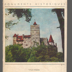 C6666 TITUS HASDEU - LA CITADELLE DE BRAN, CETATEA BRAN - Carte Monografie