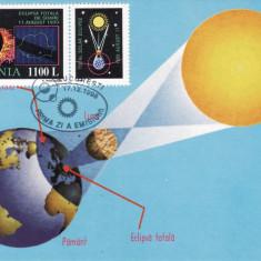 3973 - Romania 1998 - carte maxima