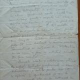 Manuscris Radu Beligan, 2 pagini, scris si semnat olograf - Autograf