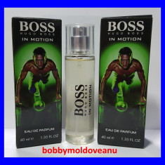 TESTER FIOLA PARFUM BARBAT HUGO BOSS IN MOTION - 40ML - Parfum barbati Hugo Boss, Altul