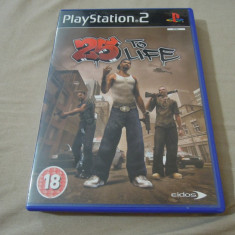 Joc 25 to Life, PS2, original, alte sute de jocuri! - Jocuri PS2 Rockstar Games, Actiune, 18+, Single player