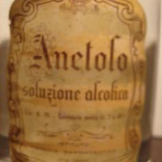 Anetolo, soluzione alcolica, farmaceutico militare italiano, l.1 gr 60 rare - Lichior