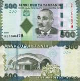 TANZANIA 500 shillings 2010 UNC!!!