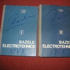 Bazele electrotehnicii - M.Preda, P.Cristea, F.Spinei (2 volume) - Carti Electrotehnica