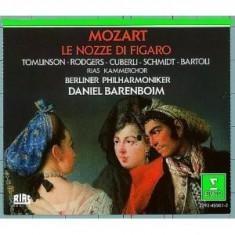 MOZART WOLFGANG A. LE NOZZE DI FIGARO(BARENBOIM) (CD) - Muzica Opera
