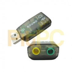 Placa audio placa de sunet USB - Placa de sunet PC