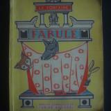 LA FONTAINE - FABULE  {1963, ilustrata color}