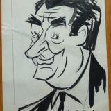 Caricatura interbelica in tus de Neagu Radulescu : aparuta in revista Festival - Pictor roman, Scene gen, Cerneala, Altul