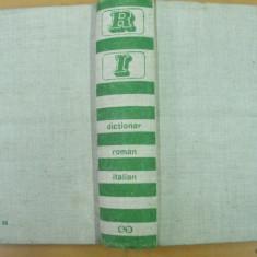 Dictionar roman italian Bucuresti 1967 50 000 cuvinte