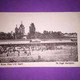 Buzau - Piata Sf. Ingeri - Carte Postala Muntenia 1904-1918, Circulata, Fotografie