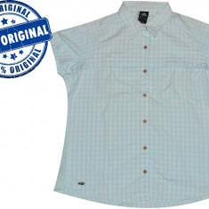 Camasa dama Adidas Kartaya - camasa originala, Marime: L/XL, Culoare: Bleu, Maneca scurta, Universala, Poliester