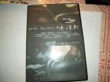 FILM DVD: SEVEN - Morgan Freeman, Brad Pitt, Romana
