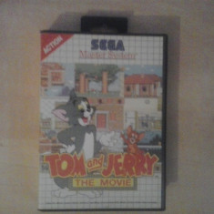 Tom and Jerry - The movie - Joc SEGA Master System ( GameLand ) - Jocuri Sega, Actiune, 3+, Single player