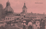 NEAMT   MANASTIREA  NEAMTZ  ANIMATA, Necirculata, Printata, Targu Neamt