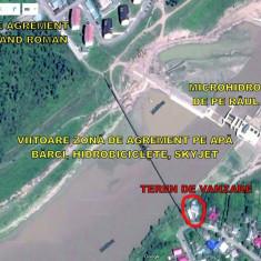 Teren 500 mp în Cotu-Vameş, jud.Neamţ lângă puntea pietonală peste râul Moldova - Teren de vanzare, Teren intravilan