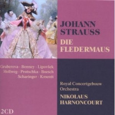 STRAUSS JOHANN DIE FLEDERMAUS(ROYAL ORCH.HARNONCOURT) - Partitura