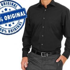 Camasa barbat Oliver Falke - camasa originala - Camasa barbati, Marime: 40, Culoare: Negru, Maneca lunga