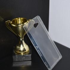 Husa noua SONY XPERIA M2 UltraSlim Silicon TRANSPARENTA protectie - Husa Telefon