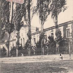 TARGU  NEAMT SPITALUL DIN TG.  NIEAMTU   TCV  CLASICA CIRC. 1907, Targu Neamt, Circulata, Printata