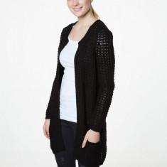 Cardigan lung cu buzunare - Vero Moda - 10137443 negru - Pulover dama Vero Moda, Marime: 36, 38
