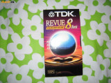 Caseta video VHS TDK REVUE T-160