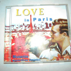 CD muzica: Love In Paris - Muzica Ambientala