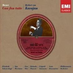 MOZART WOLFGANG A. COSI FAN TUTE(SCHWARTZKOPFKARAJAN) - Muzica Opera