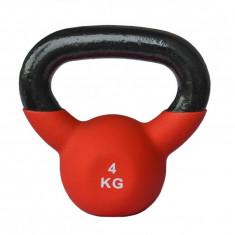 Gantera Kettlebell neopren 4kg Sportmann, Gantere