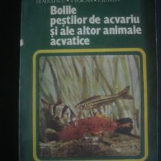 I. RADULESCU - BOLILE PESTILOR DE ACVARIU SI ALE ALTOR ANIMALE ACVATICE - Carte Biologie