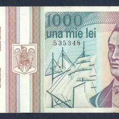 ROMANIA 1000 1.000 LEI 1993 [3] XF+++ a UNC - Bancnota romaneasca