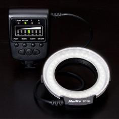 Blitz flash Ring led Macro Meike FC-100, garantie - Blitz circular Canon