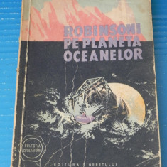 Robinsoni pe planeta oceanelor - I M Stefan si Radu Nor science fiction (05348 - Carte SF