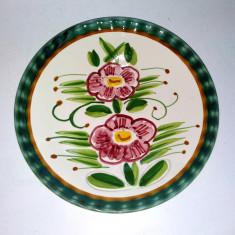 Farfurie ceramica majolica pentru perete - Semnata Claudio Bernini - Italia - Arta Ceramica
