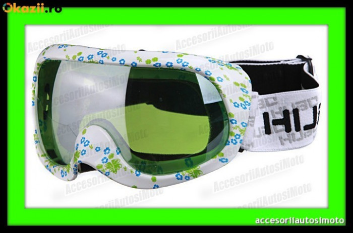 OCHELARI SKI HUBO PRO Unisex Anti-Fog Tech UV Protect Ochelari Snowboard foto mare